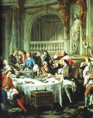 Le Dejeuner d'huitres, Jean-Francois de Troy