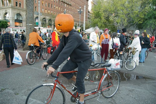 Halloween Critical Mass in San Francisco 2009
