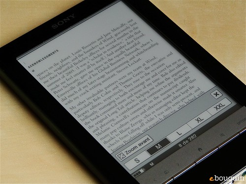 Sony Reader Touch Edition 58 sur 91
