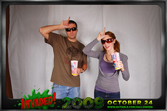 Sam Jon (avitable) Tags: costumes party halloween alien invasion invaded avitable avitaween avitaween2009