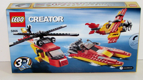 2010 LEGO - Creator 5866 Rotor Rescue Box