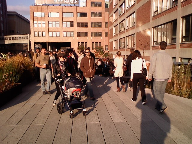Photo from the High Line set at Flickr.