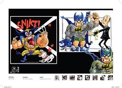 "DC - ""Cômicos"" (eduardowestin) Tags: dc cartoon super hero batman strong wolverine forte cartum musculo heroi"