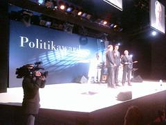 #Riester erhält den #Politikaward für sein politisches Lebenswerk