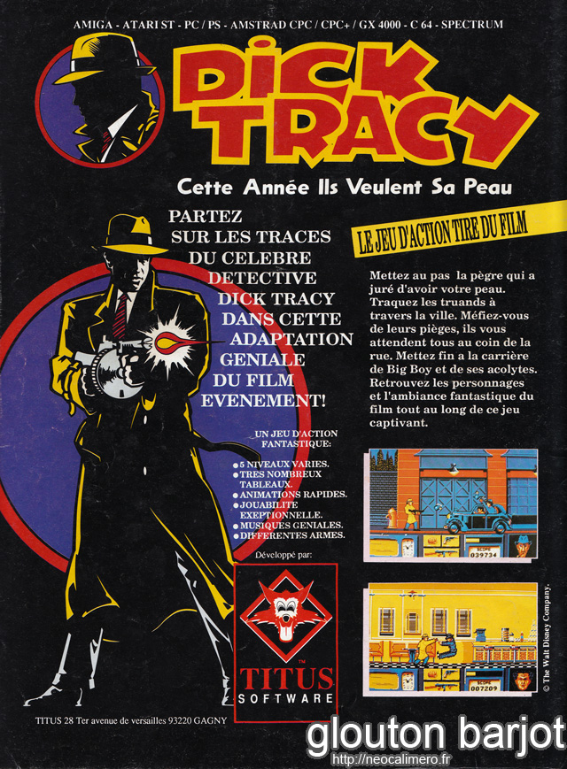 PUB-DICK TRACY
