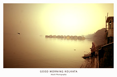 Good Morning | Kolkata (@k@sh) Tags: life canon 350d 10 sigma adi 1020 kolkata ganga ghat akash 10mm kalighat