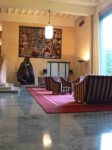 Entrance Hall, French Embassy, Ottawa