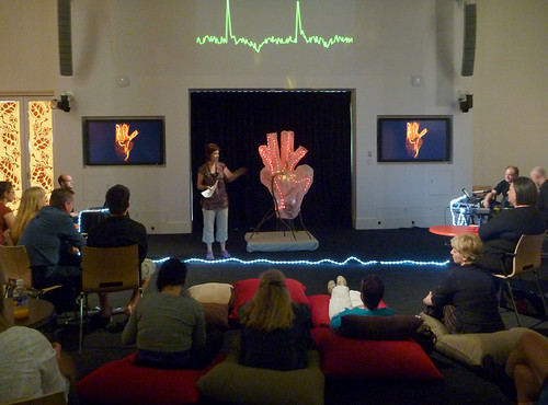 Heartsong is installed and performed at the RiAus
