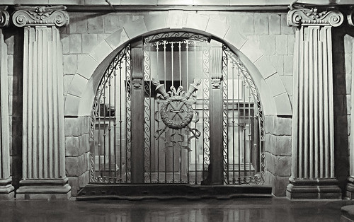 City Museum, in Saint Louis, Missouri, USA - classical gate
