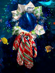 Tie Wreath (andrewfristoe) Tags: christmas fish tie wreath