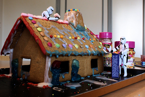 The Gingerbread Side of the House