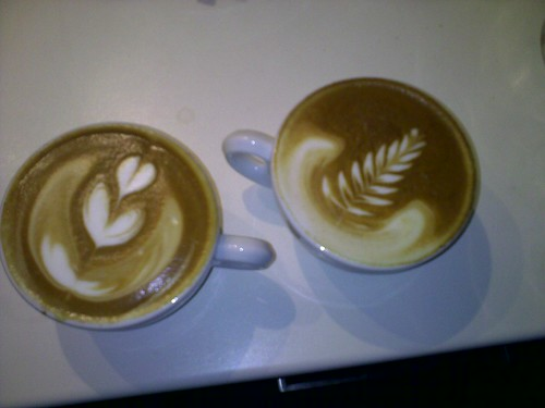 New year - first 2 Cappuccinos