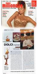 Articolo su millionaire dicembre 2009. Mario Ragona