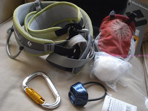 katharine娃娃 拍攝的 17攀岩基本裝備。