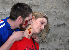 Zombie Walk 2 (Bright Visions Photography) Tags: night neck blood downtown zombie walk first eat annual oshkosh