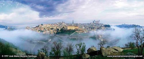 Panorámica de Toledo en 1997