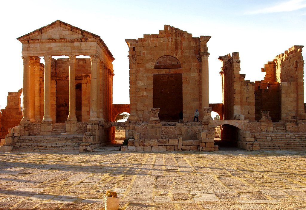 Sbeitla Forum Temples