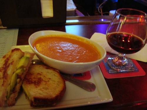 Grilled Cheese, Tomato Soup + Beer