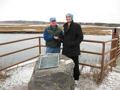 John Andrews and Dennis (East Coast Greenway) Tags: offroad maine trail planning ecg advocates eastcoastgreenway easterntrail etmd 2010constructionprojects