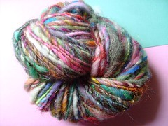 grey days (6) (rosie.ok) Tags: wool knitting handmade crochet craft yarn spinning sparkly artisan woollen handspun spun
