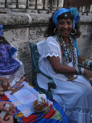 Pitonisa en Habana Vieja