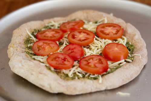 DIY: Frozen Pizzas