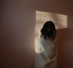 49365 (L I L L I  N) Tags: shadow me self project myself lights bedroom shadows blanket blinds 365 coccoon project365 sooc
