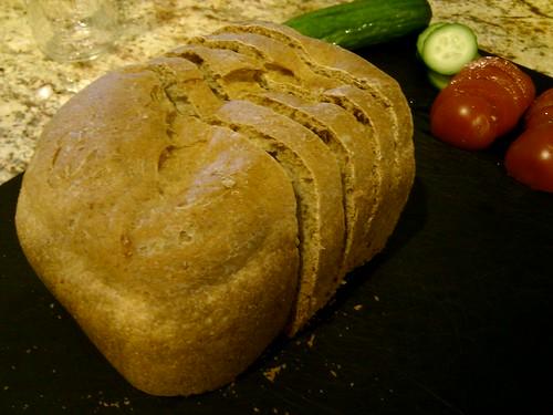 Enjoying bread from @mrsantgiant and @antgiant thanks!