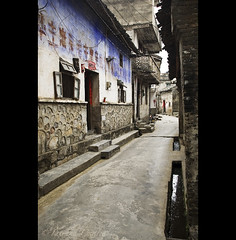 back in the time - China ( Tatiana Cardeal) Tags: china digital ancient alley asia village yangshuo historic  2009  guangxi mingdynasty fuli guangxizhuangautonomousregion