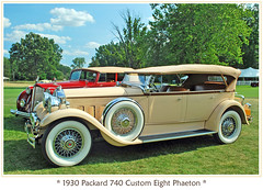 1930 Packard Custom Eight (sjb4photos) Tags: car automobile packard concoursdelegance autoglamma 1939packard 2009meadowbrook