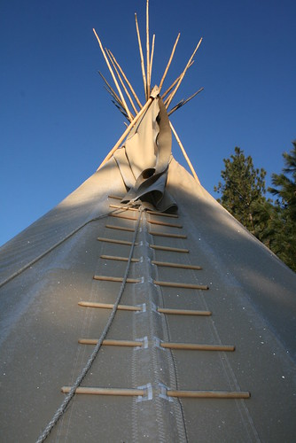 Tipis at ECETI Ranch