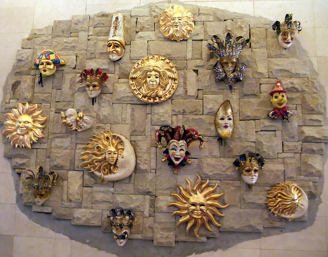 Beautiful Venitian Carnival Masks