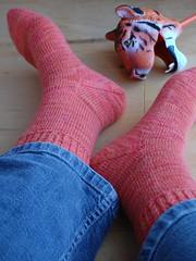 Anniversary Cuff Socks