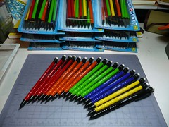 Paper Mate Write Bros 07 mm Click Pencils class stash (betolung) Tags: paper mm mate 07 mechanicalpencil