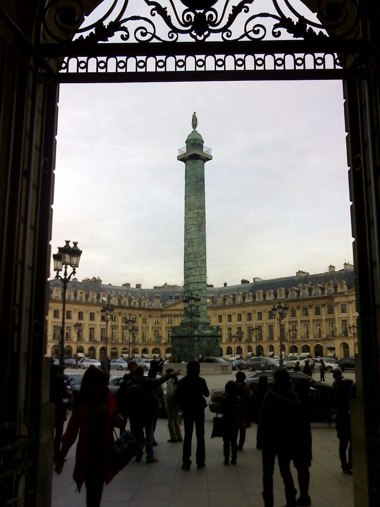 In Paris: Place Vendôme
