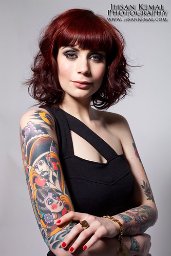 Taisja Tattoo Magazine Shoot