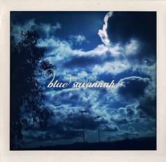 Blue Savannah (isayx3) Tags: camera wild sun clouds toy typography design phone graphic border font erasure iphone plainjoe isayx3