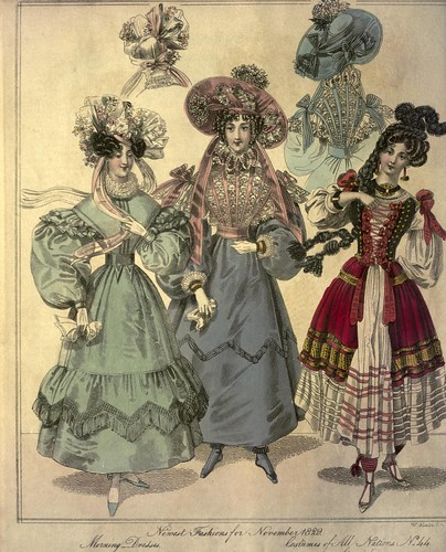 014-The World of fashion and continental feuilletons 1829