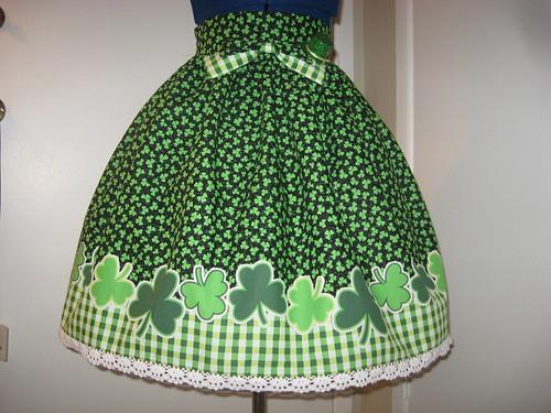 St Patricks Day Skirt 001