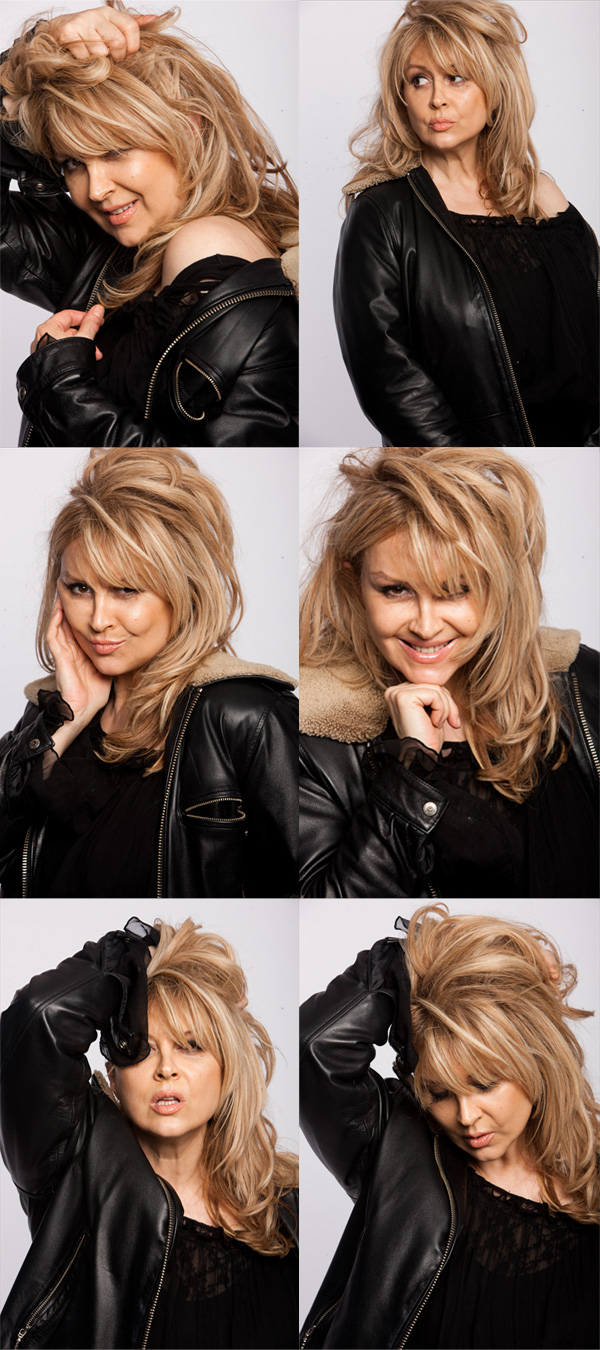 Faces of Adriana (by Dave Reid)