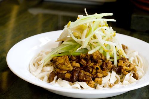 Vegetarian Za Jiang Mein 2