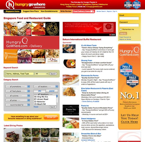 HungryGoWhere Screenshot