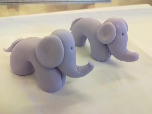 Planet Cake Model Elephants