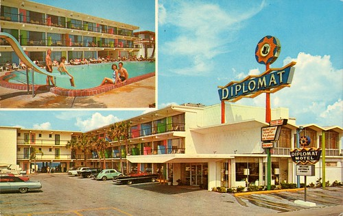 Diplomat Beach Motel - Daytona Beach, Florida
