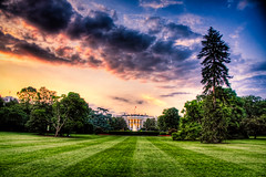 The White House (Kay Gaensler) Tags: usa sunrise dc washington whitehouse kay 2009 hdr frhling gnsler gaensler wwwenslerde