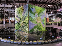 Living Succulent House at San Francisco Flower and Garden Show (Kelley Macdonald) Tags: succulent livingpicture sanfranciscoflowerandgardenshow growinggardens