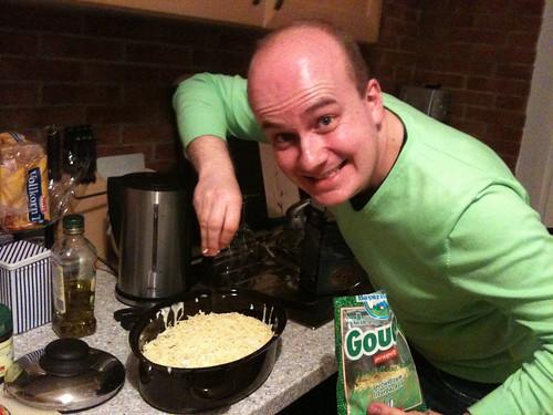 Lasagne - Käse drauf