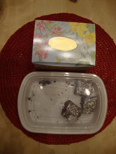 Thomas Sweet box, brownies