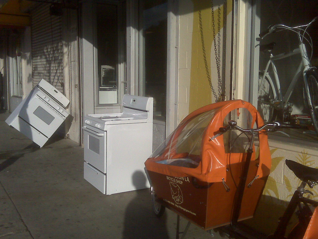 Sigh. Our new neighbor's used stoves gettin' crunk.