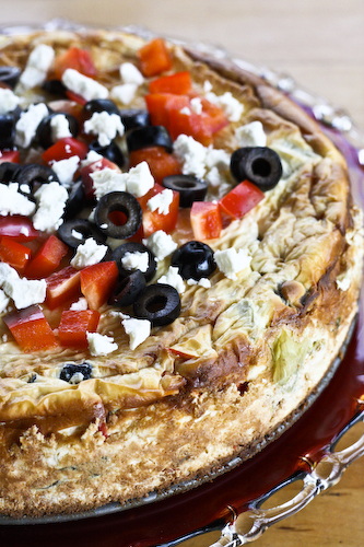 savory cheesecake verticle